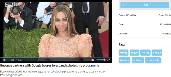Beyonce Partners with Google