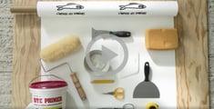 DIY video hanging wallpaper