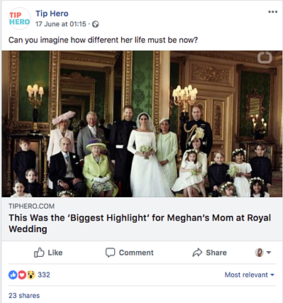 Tip Hero The Royal Wedding