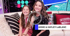 Annie and Hayley LeBlanc video content