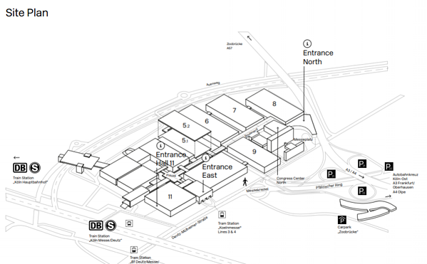 DMEXCO site plan
